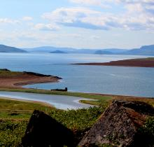View from FON Island